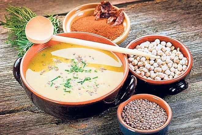 Вкусно, апетитно и лесно предложение Крем супа от нахут