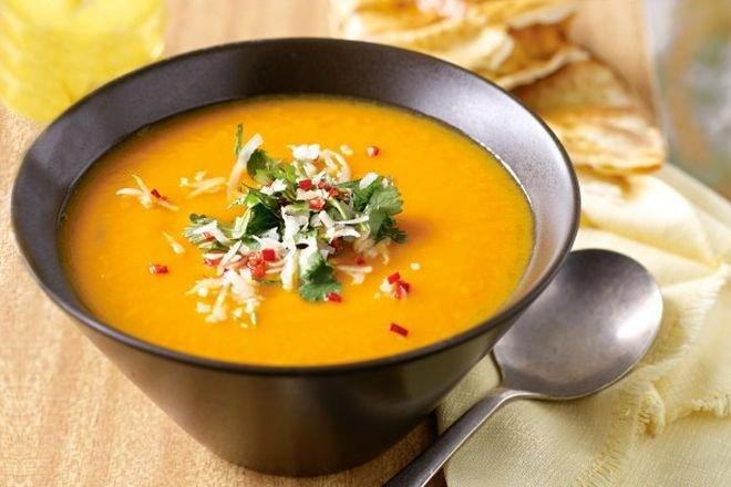 Вкусна идея за екзотична вечеря супа от тиква