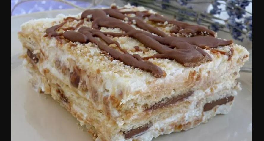 Най-лесната и вкусна торта само с 3 съставки