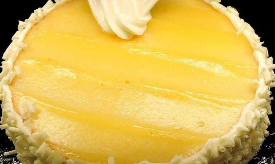 Уникален десерт за жегите! Лимонова торта без печене